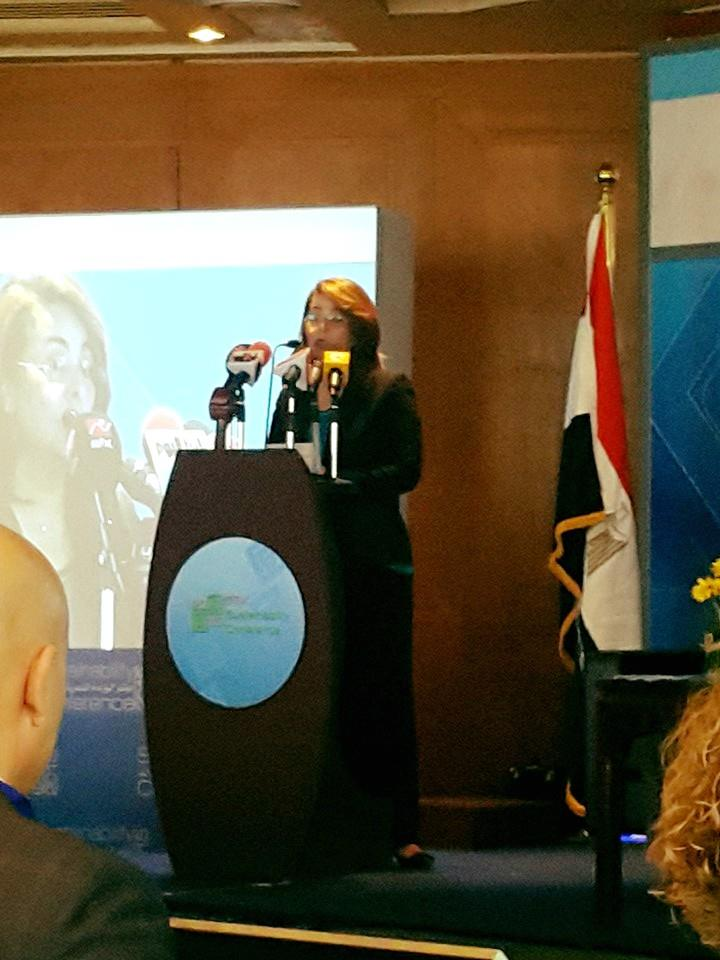Ms. Ghada Wali - Minister of Social Solidarity speech